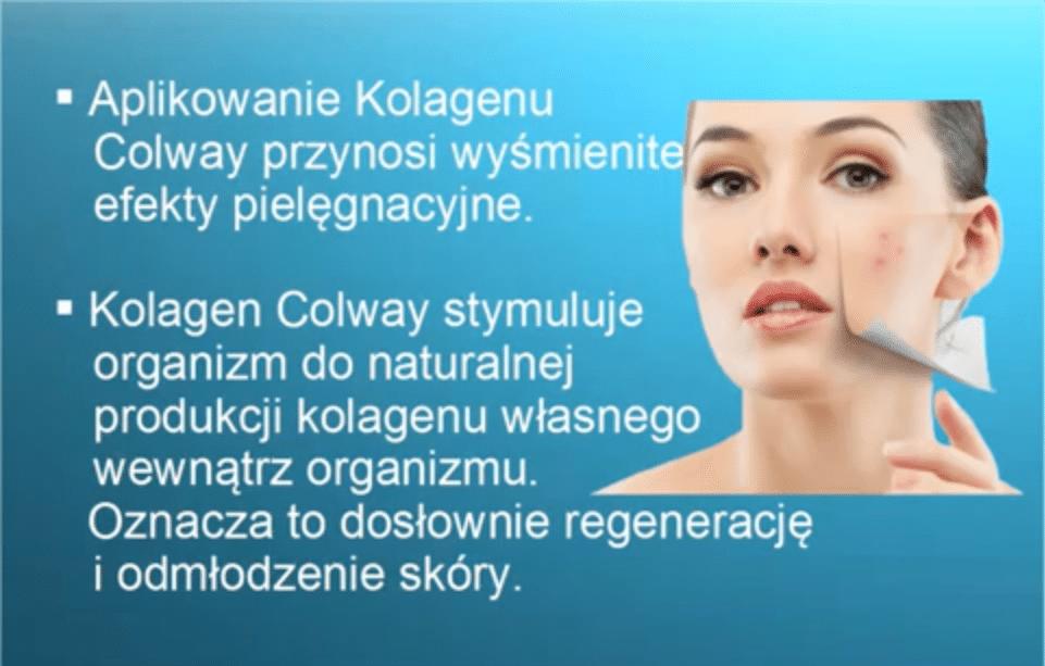 Aplikowanie kolagenu Colway