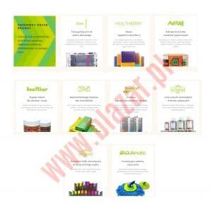 Produkty Greenway