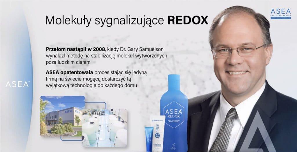 Molekuły Sygnalizujące Redox - patent