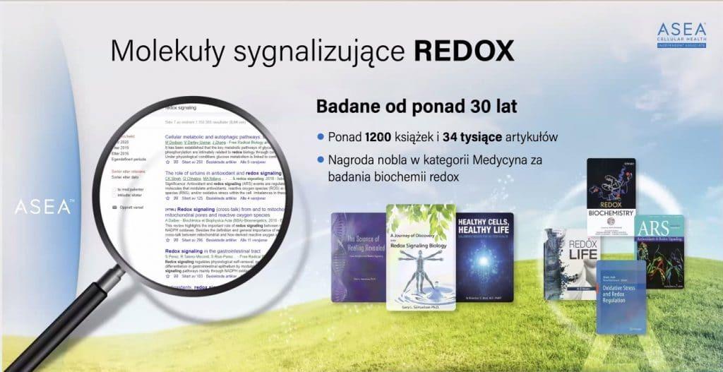 Molekuły Sygnalizujące REDOX - ponad 1200 książek